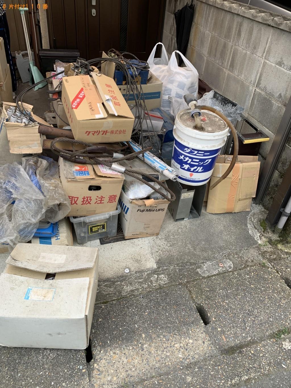 【京都市伏見区】軽トラック1台程度の出張不用品回収・処分ご依頼