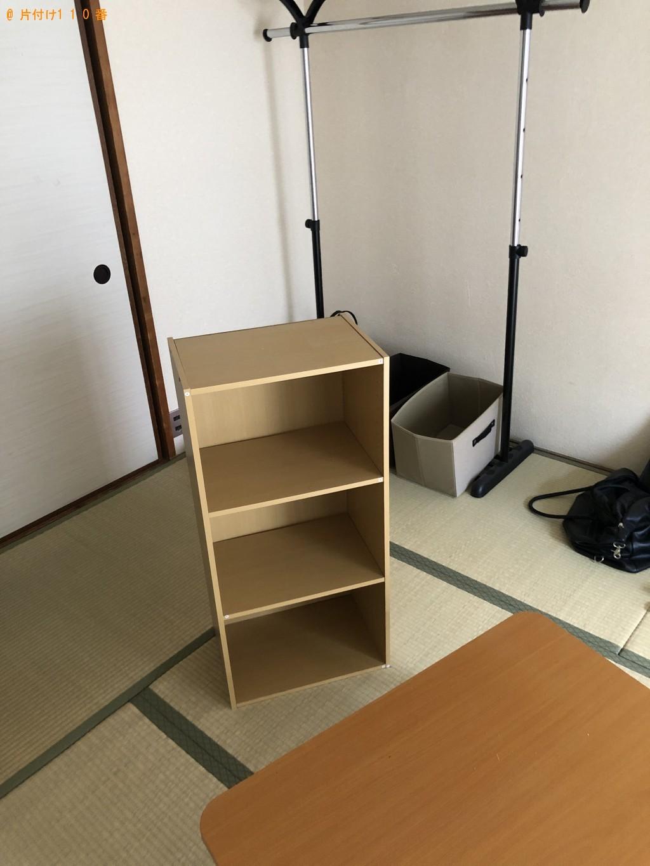 【京都市右京区】冷蔵庫、一般ごみ、カラーボックス等の回収・処分