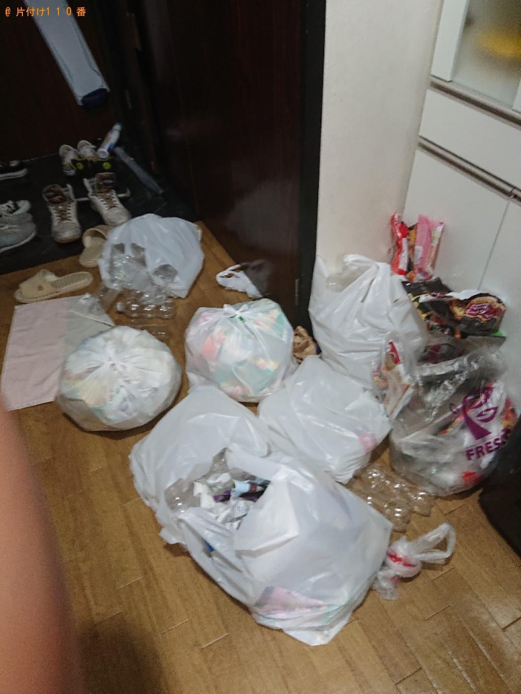 【京都市伏見区】部屋の整理整頓と掃除、掃除で出た一般ごみの回収