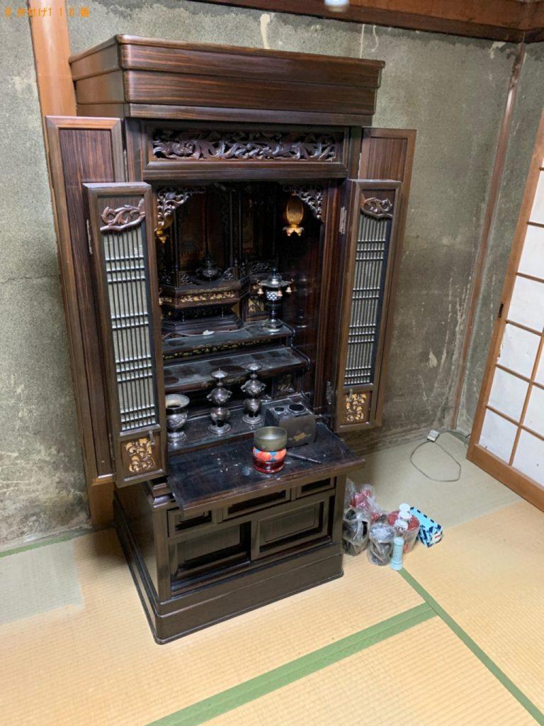 仏壇、仏具の回収・処分ご依頼 お客様の声