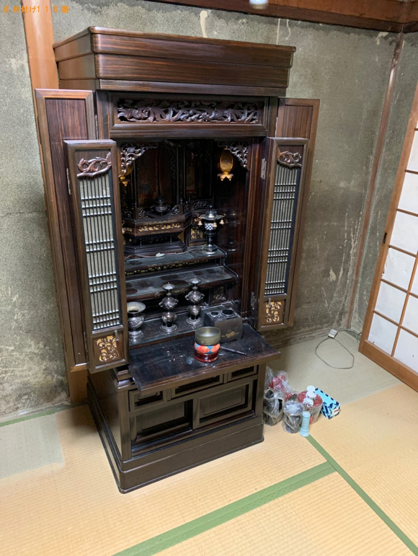 【京都市伏見区】仏壇、仏具の回収・処分ご依頼 お客様の声