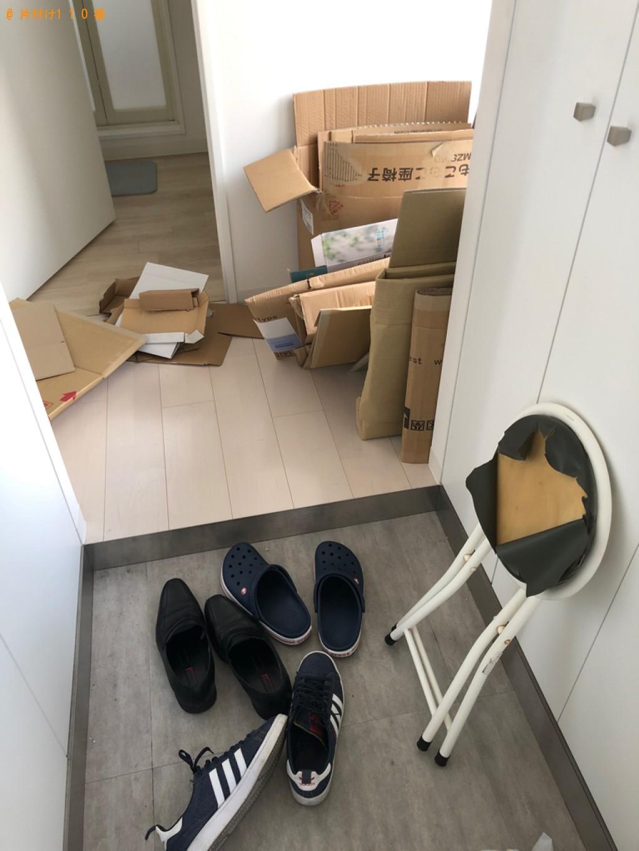 【京都市】パイプ椅子、ダンボール、一般ごみの回収・処分ご依頼
