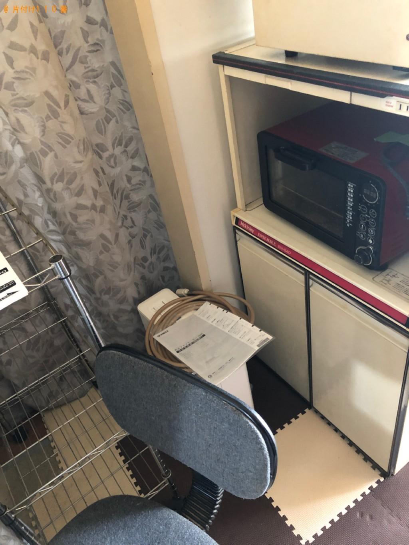 【長岡京市】本棚、椅子、レンジ台、メタルラック等の回収・処分