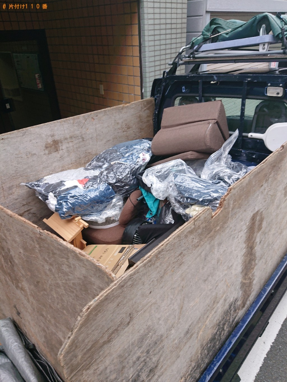 【京都市】ヘルメット、服、空気清浄機、折り畳み椅子等の回収・処分