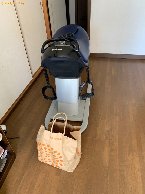 【綴喜郡井手町】マッサージチェア、鉄アレイ、健康器具等の回収