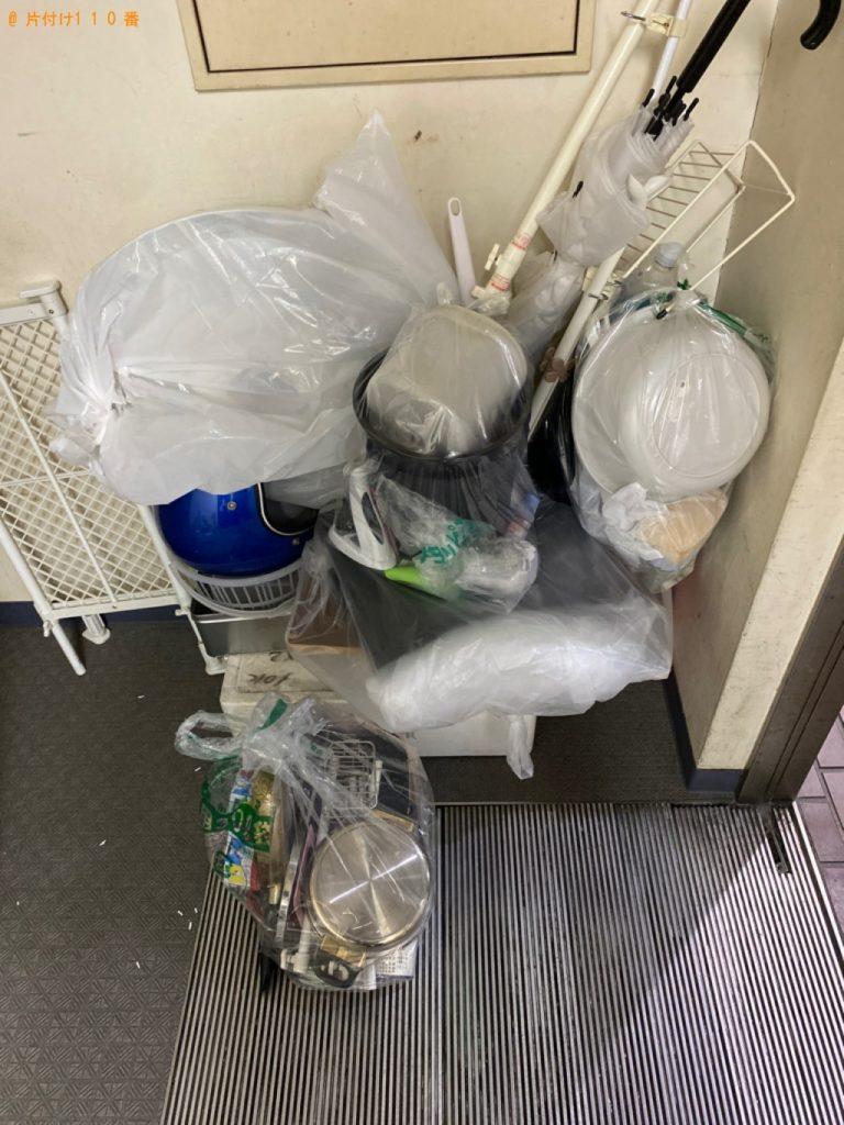 【大館市】遺品整理に伴い軽トラック1台程度の出張不用品回収・処分ご依頼
