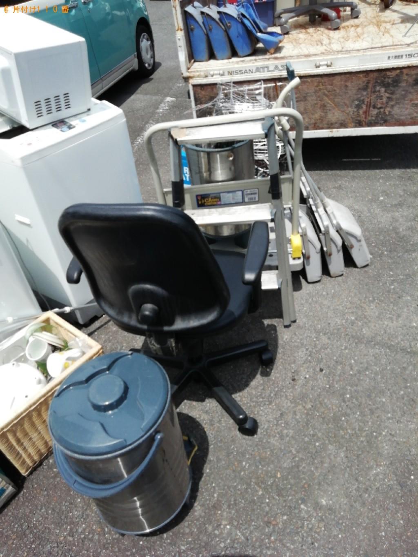 【京都市右京区】冷蔵庫、下駄箱、ちりとり、自転車のカゴ等の回収