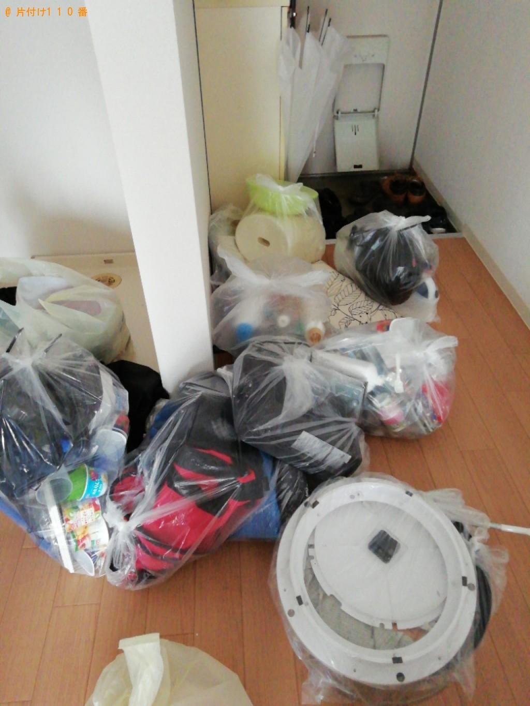 【舞鶴市】衣類、照明器具等の回収・処分ご依頼 お客様の声