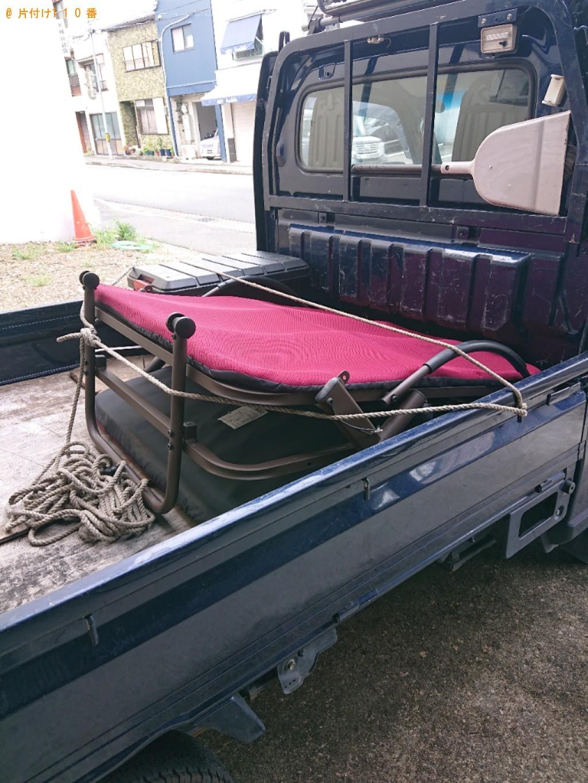 【京都市中京区】折り畳みベッドの回収・処分ご依頼 お客様の声