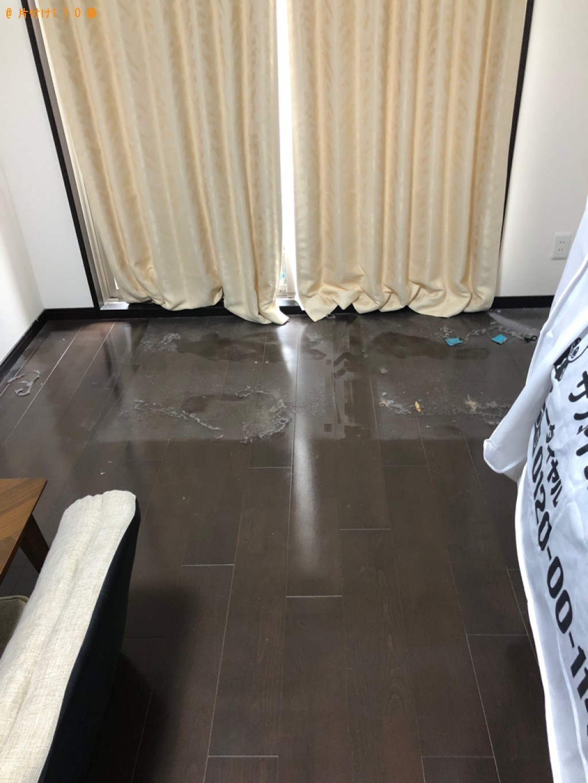 【京都市中京区】シングルベッド(マットレス付)の回収・処分ご依頼