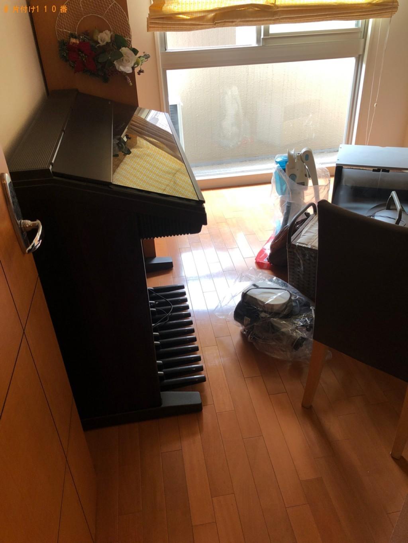 【京丹後市】遺品整理に伴いテレビ台、エレクトーン等の回収・処分ご依頼