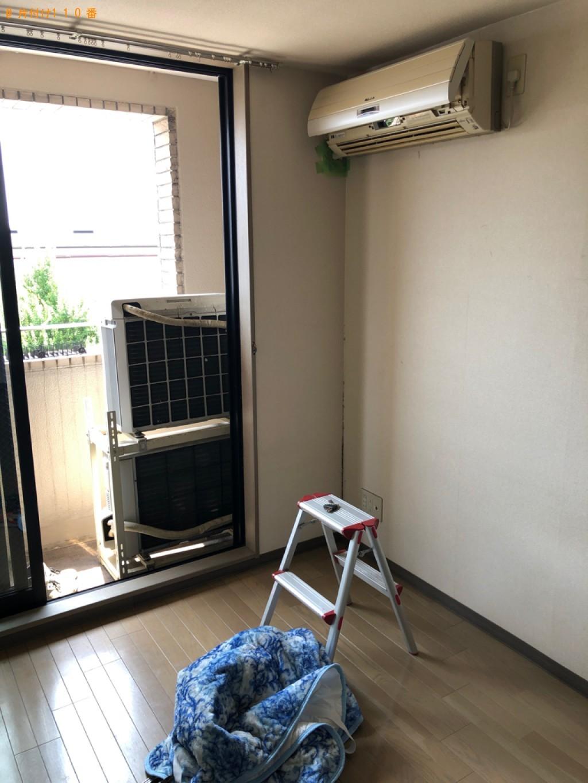 【京都市左京区】エアコンの取り外し・回収・処分ご依頼 お客様の声