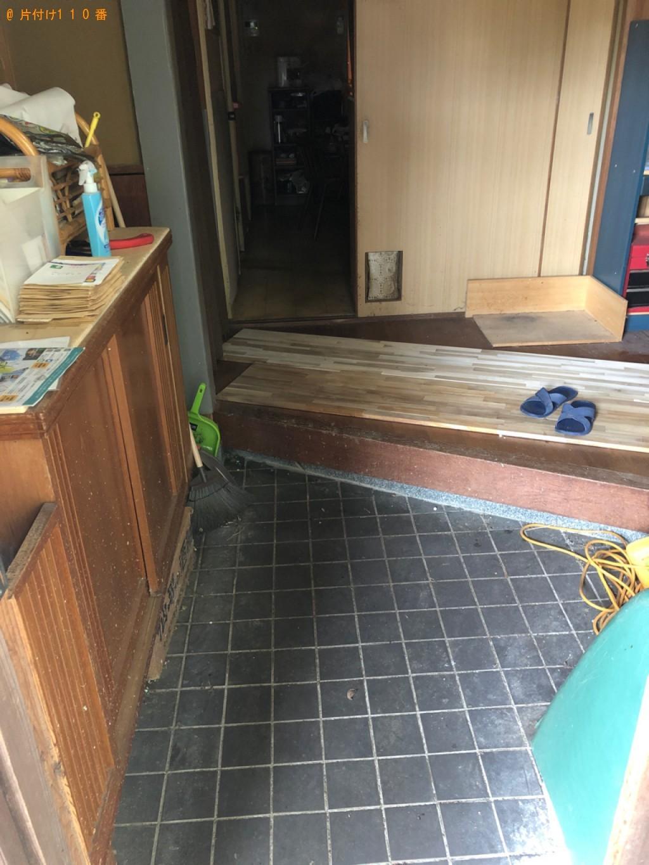 【京丹後市】遺品整理で椅子、小型家電の回収・処分ご依頼 お客様の声