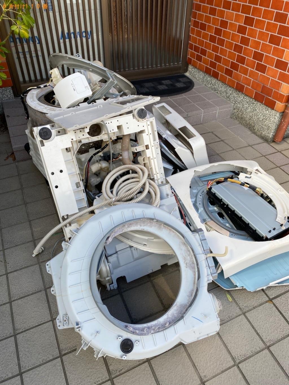 【京都市】ドラム式洗濯機の回収・処分ご依頼 お客様の声