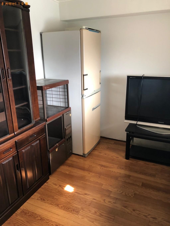 【向日市】遺品整理で冷蔵庫、テレビ、タンス、布団等の回収・処分ご依頼