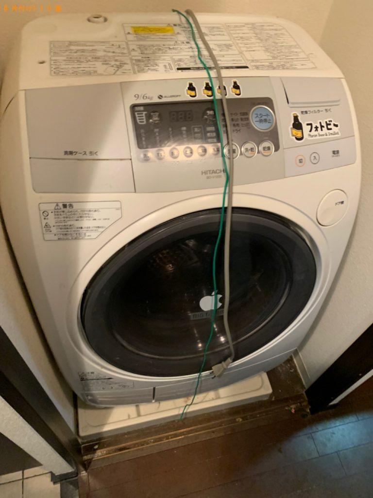【大仙市】遺品整理に伴い冷蔵庫、ドラム式洗濯機の回収・処分ご依頼