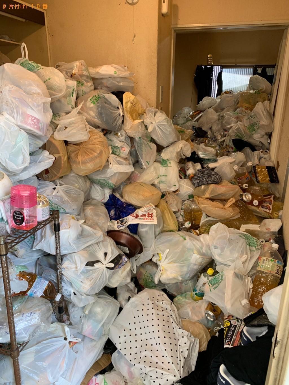 【京都市北区】大量の一般ごみの回収・処分ご依頼 お客様の声
