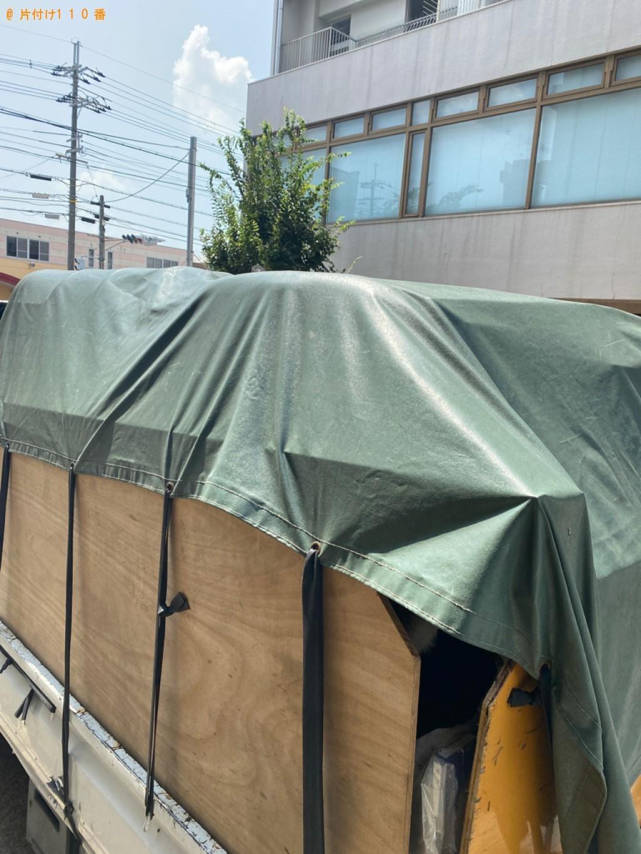 【京都市右京区】シングルベッド、カラーボックスの回収・処分ご依頼