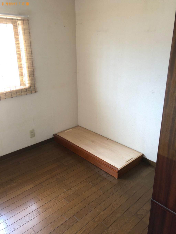 【八幡市】婚礼ダンス、四人用ダイニングテーブル、椅子等の回収
