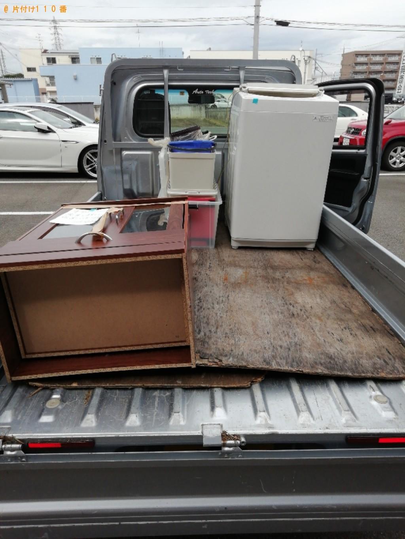 【京丹後市】洗濯機、掃除機、食器棚等の回収・処分ご依頼