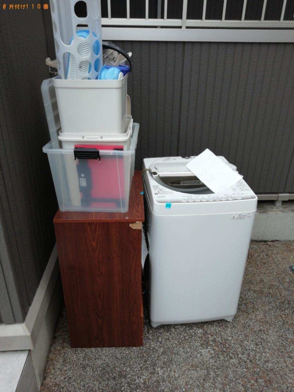 【京都市伏見区】洗濯機、掃除機、食器棚等の回収・処分ご依頼