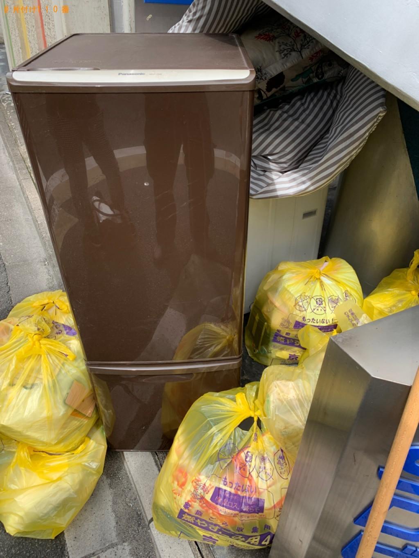 【京都市中京区】冷蔵庫、洗濯機、一般ごみ等の回収・処分ご依頼