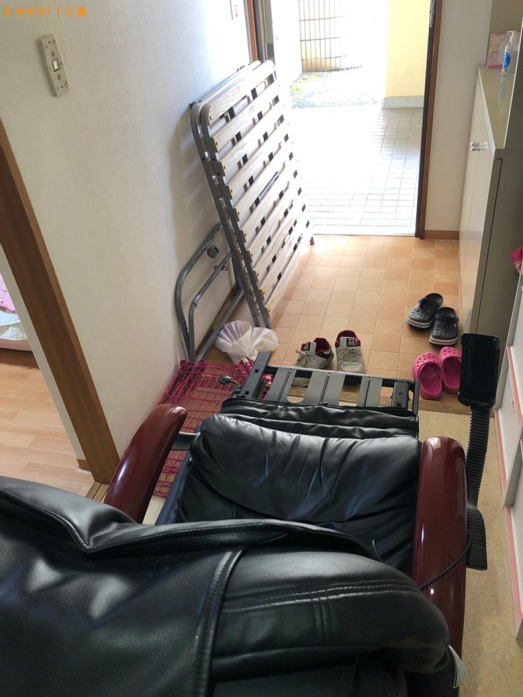 【京都市西京区】シングルベッドの回収・処分ご依頼 お客様の声