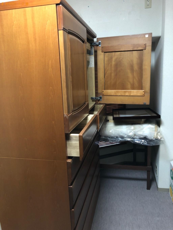 【京都市中京区】カーペット、本棚、クローゼット等の回収・処分