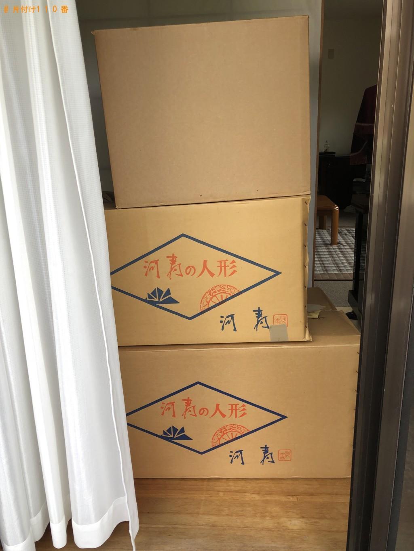 【京都市右京区】和タンス、五月人形、スーツケース等の回収・処分