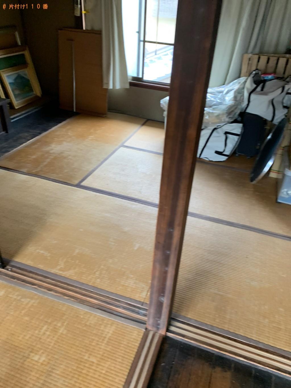 【京都市北区】シングルベッド、ベッドマットレス、椅子等の回収