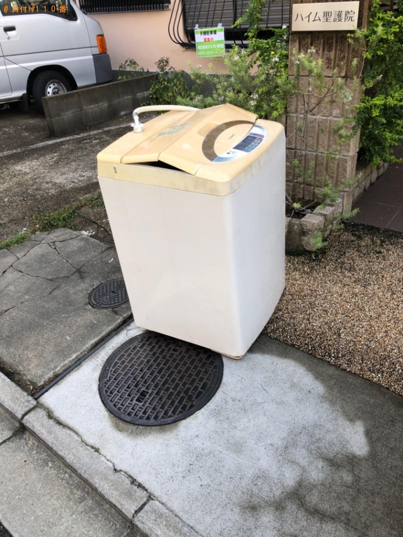 【京都市左京区】洗濯機の回収・処分ご依頼 お客様の声