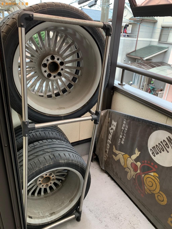 【宇治市】自動車タイヤの回収・処分ご依頼 お客様の声