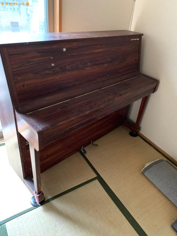 【宇治市広野町】三人掛けソファー、電子ピアノの回収・処分ご依頼