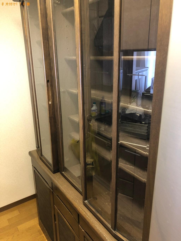 【京都市右京区】食器棚、椅子、クローゼット、学習机等の回収・処分