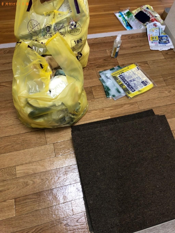 【京都市東山区】軽トラック1台程度の出張不用品回収・処分ご依頼