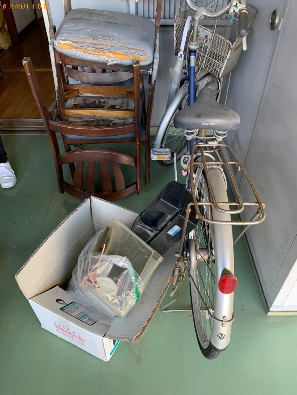 【京都市南区】水槽を置く台、椅子、ダンボール等の回収・処分ご依頼