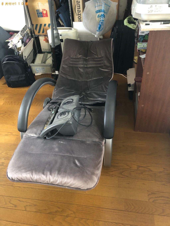 【京都市西京区】マッサージチェアの回収・処分ご依頼 お客様の声