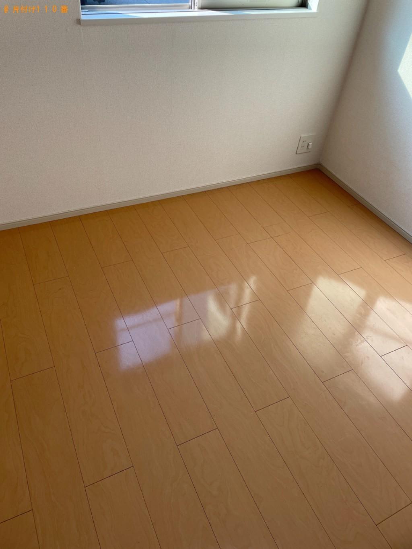 【木津川市】マットレス付きシングルベッド、簡易ソファー等の回収