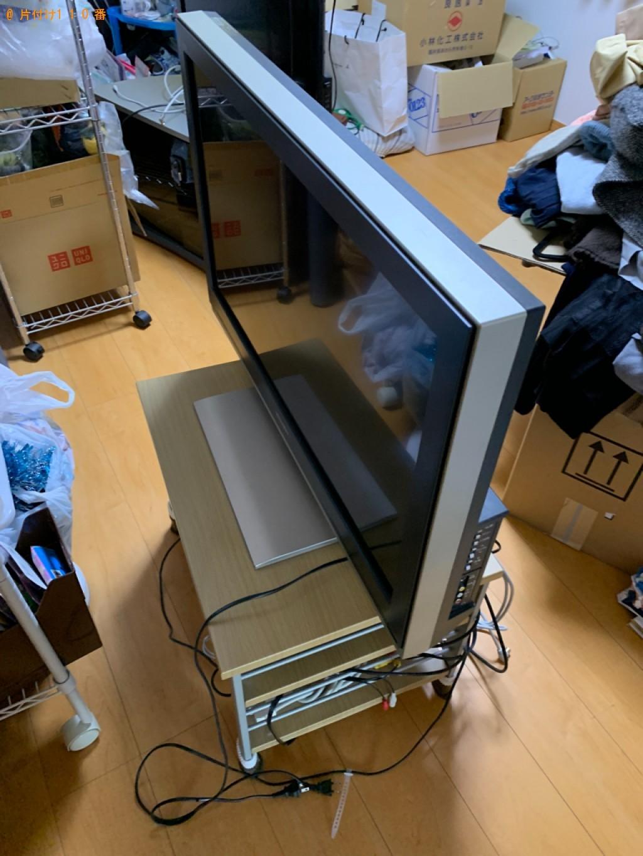 【京都市上京区】テレビ、パソコン、こたつ、炊飯器等の回収・処分
