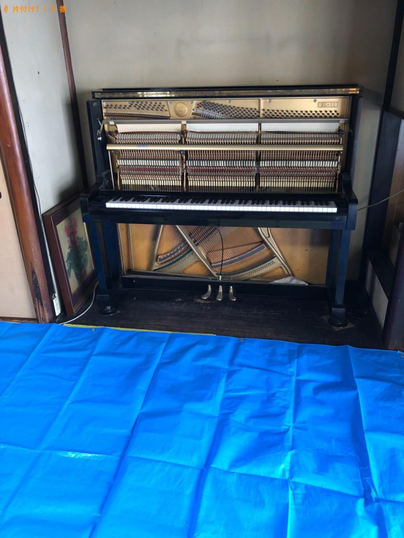 【京都市中京区】ピアノの回収・処分ご依頼 お客様の声