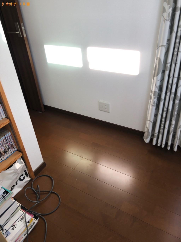 【京都市上京区】マットレス付きセミダブルベッドの回収・処分ご依頼