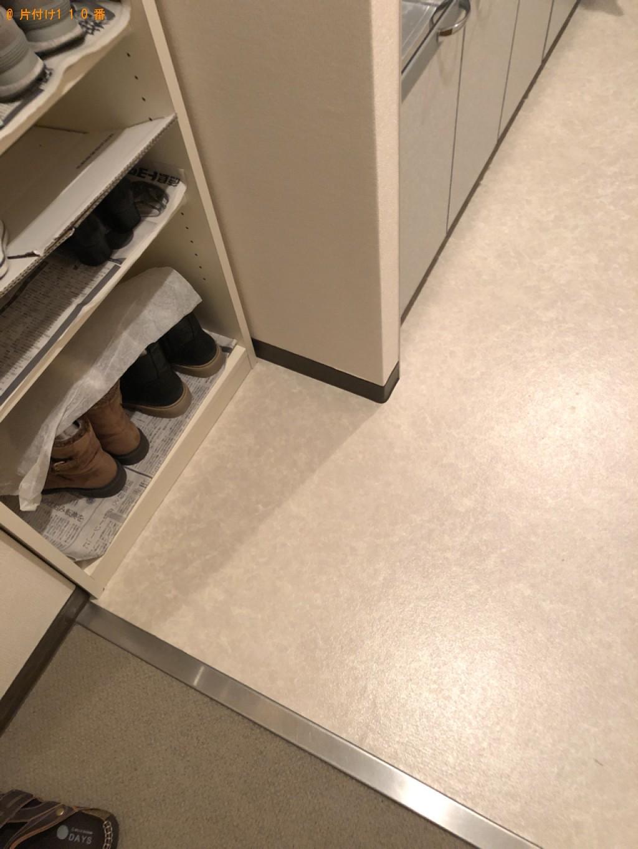 【京都市伏見区】シングルベッド、物干し竿、一般ごみ等の回収・処分
