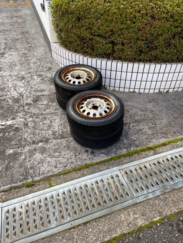 【木津川市】自動車タイヤの回収・処分ご依頼 お客様の声