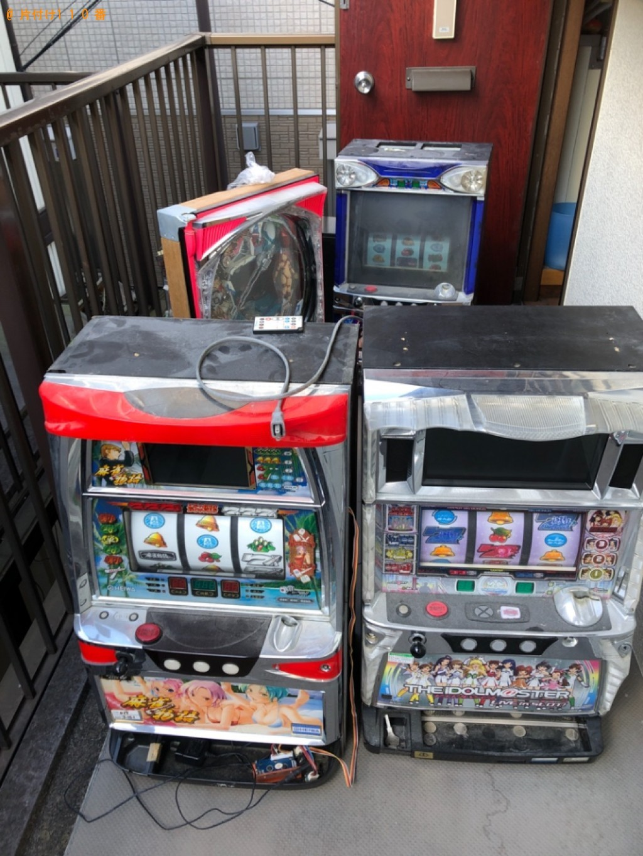 【長岡京市】パチスロ機、テレビの回収・処分ご依頼 お客様の声