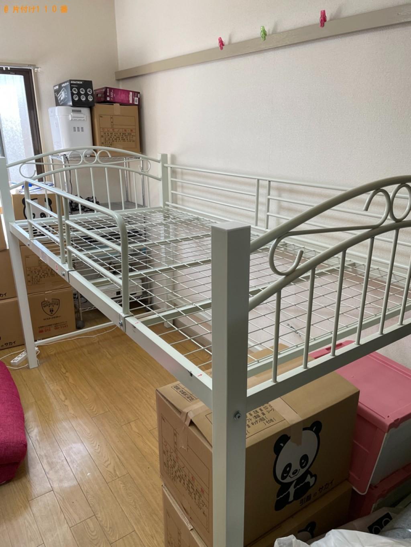 【京都市中京区】洗濯機、ロフトベッド、一般ごみ等の回収・処分