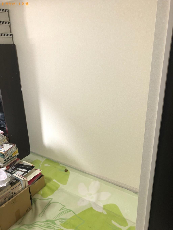 【京都市上京区】本棚、ラック、ローテーブルの回収・処分ご依頼