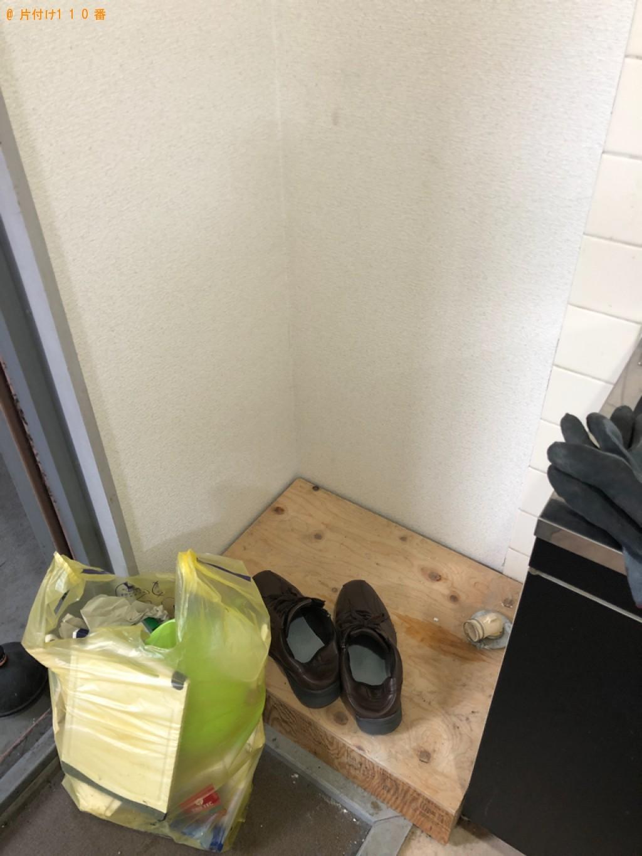【京都市北区】冷蔵庫、洗濯機、電子レンジ、物干しスタンド等の回収