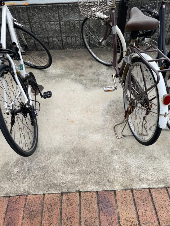 【京都市山科区】自転車の回収・処分ご依頼 お客様の声