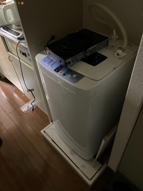 【京都市右京区】冷蔵庫、洗濯機、シングルベッド等の回収・処分