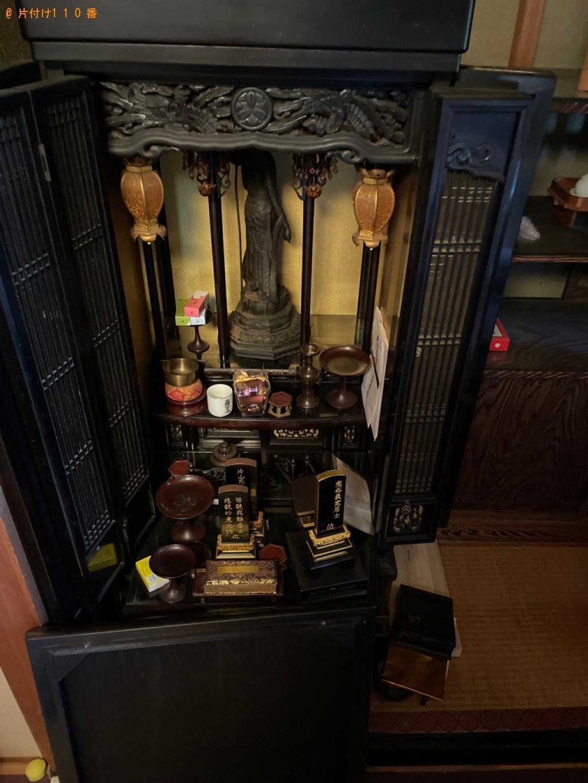 【京都市】仏壇、神棚の回収・処分ご依頼 お客様の声